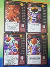 Dragon Ball Z DBZ CCG TCG Custom Panini Proxy Foil Chilled 1-4 MP Set
