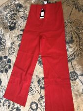 "Noppies Maternity Womens Size XS Red Cropped Dress Pants Inseam 27"" NWT $85"