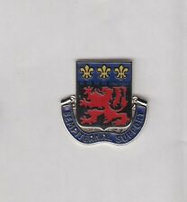 US Army 105th Engineer Group DUI crest c/b clutchback badge P-23