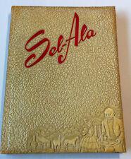 1952 A. G. Parrish High School Yearbook - SEL-ALA - Selma, Alabama - GOOD