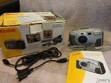 Kodak DC3400 Zoom Digital Camera w/  Manual, Cords & Box
