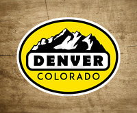 """SKIING DENVER COLORADO MOUNTAINS Decal Sticker 4"""" x 3"""""""