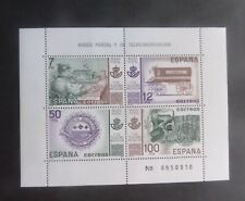 Spain 1981 Postal Telecoms Museum MS MS2665 MNH UM unmounted mint