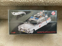 Hot Wheels Ghostbusters Ecto-1 Elite Series #W1194 New 2011 1:43 scale