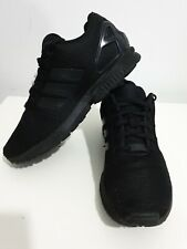 Adidas ORIGINALS ZX Flux Triple Black Mens Trainers UK size 7