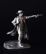 Old West: Wyatt Earp KIT Tin toy soldier 54 mm. metal