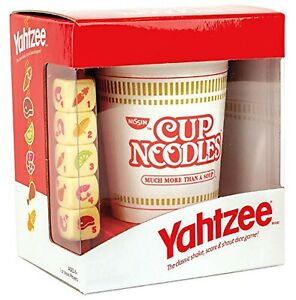 YAHTZEE Cup Noodles   Collectible Yahtzee Game Made to Look Like Iconic Ramen