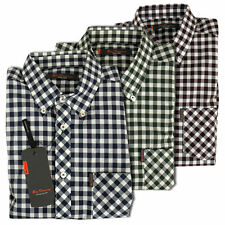 Ben Sherman Short Sleeve Check Casual Shirts & Tops for Men