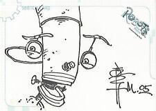 "Robots The Movie - SK2 ""Tone Rodriguez"" Sketch Card #308/528"