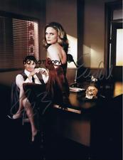 HAND SIGNED WITH COA - BONES - DAVID BOREANAZ AND EMILY - AUTOGRAPHED 8X10 PHOTO
