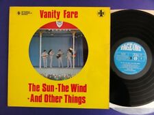 VANITY FAIR THE SUN THE WIND AND OTHER THINGS page one /1 UK Lp EX/EX