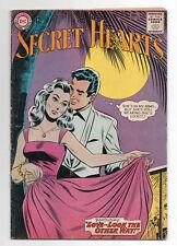 DC COMICS  SECRET HEARTS  92  1963  ROMANCE
