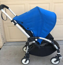 Bugaboo Bee Blue Standard Single Seat Infant Toddler Stroller W/ Accessories