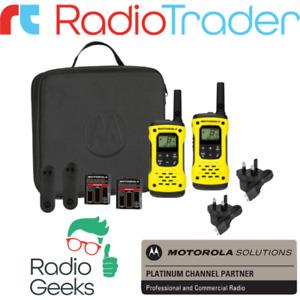 Motorola TLKR T92 H2O Twin Pack PMR446 Licence Free IP67 New