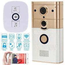 Home Security Surveillance Camera Phone Wireless Video Doorbell WiFi-Enabled US
