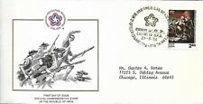 INDIA 1976 FIRST DAY COVER THE SPIRIT OF '76, AMERICAN BICENTENNIAL