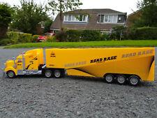 Gelbe amerikanische großer Truck LKW 49cm lang Fernbedienung Auto Neu Boxed