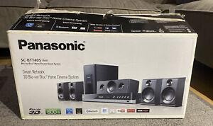 PANASONIC SC-BTT405 3D Blu-Ray Disc Home CINEMA Theater Surround Sound System
