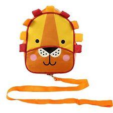 NEW RED KITE JUNIOR BACKPACK WITH REINS TODDLER LUNCH BAG RUCKSACK LION ORANGE