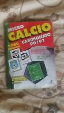 ALBUM MICRO CALCIO 90 / 91 figurine Vallardi microcalcio 1990 91 -29 (116 FIG