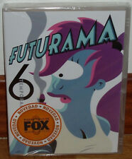 FUTURAMA 6º SEASON COMPLETE 2 DVD NEW SEALED SCIENCE FICTION (UNOPENED