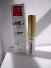 MASTERS COLORS GLOSS SCINTILLANT 10 lèvres glamour Sparkling lips transparent 10