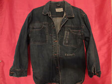 Vintage 80's Sergio Valente women's denim jean jacket  SIZE Medium GUC