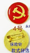 Communism Communist badge Country Flag Lapel Hat Cap Tie Pin Badge-20*20mm