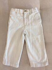 Boys George Beige Pants Size 18 Month Cotton