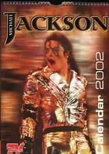 MICHAEL JACKSON 2002 CALENDAR,UNUSED,TV TIMES EDITION PUBLISHED BY STREET HASSLE