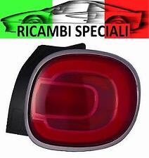 FANALE STOP GRUPPO OTTICO POSTERIORE SX FIAT 500L DAL 09/2012 -> CROMATO