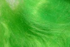 1x1g Poil MOHAIR dubbing VERT FLUO montage   fliegen fly tying green