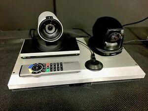 Tandberg C40 TTC6-11 Video Conference System w/ Remote TTC8-02 & Wave II Cameras