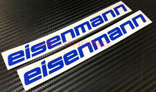 Eisenmann Stickers Decals Exhaust Cat-back System Free Shipping x 2
