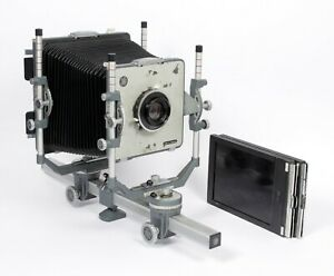 Cambo SC 5X7 with Schneider G-Claron 210mm F9 lens + holders