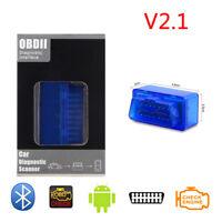 ELM327 OBD2 II Bluetooth Car OBD2 Diagnostic Interface Scanner Android Windows