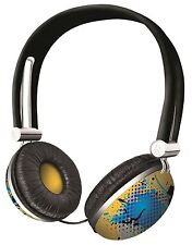 NEW TRUST 17557 URBAN REVOLT AUDIO PC SKYPE HEADSET, AFTERNOON GLOW