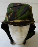 COLD WEATHER MVP WOODLAND CAP HAT - British Army Issue , Size small , NEW