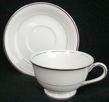 Harmony House China Silver Melody Cup & Saucer Set