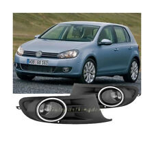 Fog Lights Bumper Lamps Clear Fits 2010-2014 Volkswagen VW Golf MK6 FL7113