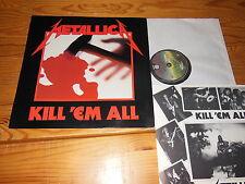 METALLICA - KILL 'EM ALL / HOLLAND-LP 1983/1989 & INLET