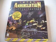 Total Annihilation  -  Battle Tactics  ADD ON  (PC)  Neuware    USK 18