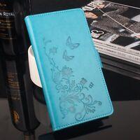 Funda libro flip piel sintetica tapa flores ZTE Blade A610,ZTE Blade V6 Max