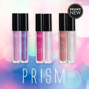 MUA Prism Liquid Lip Kit - Liquid Matte Lipstick & Holographic Lip Gloss Duo