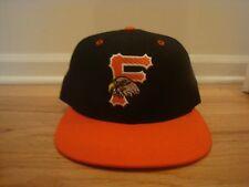 VTG Frederick Keys New Era 7 1/4 hat cap 90s retro game used? 80s Wool old logo