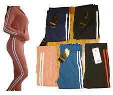 Damen Trainingsanzug 2 Teilig Hose+Jacke Sportjacke Sportanzug Streifen 206 NEU