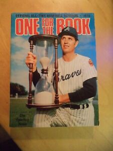 1971 SPORTING NEWS ONE FOR THE BOOK ALL - OFFICIAL ALL -TIME BASEBALL RECORDS