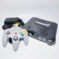 Nintendo 64 N64 System JAPAN Console, OEM Controller, Cleaned, TESTED from Japan