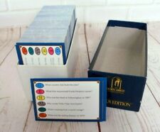 TRIVIAL PURSUIT 3000 Questions Genus Edition Replacement 1x Box of 500 Cards