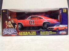 Dukes Of Hazzard 2006 Movie General Lee 1969 Dodge Charger 1/18 Joy Ride Dented